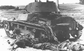 Soviet army did not respond