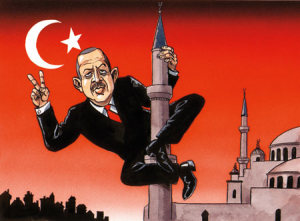 Turkish President is a lair and a hypocrite.