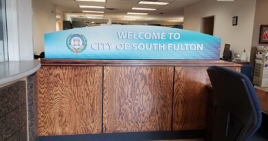 South Fulton City Hall Welcome