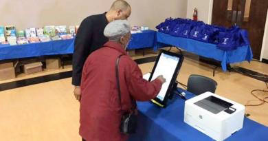 Mock Election in Fulton County on Feb. 18