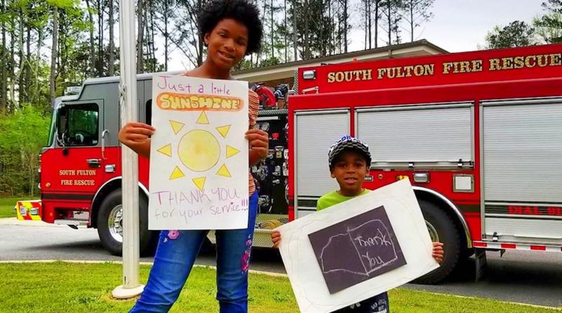 First Responders - South Fulton Thank You