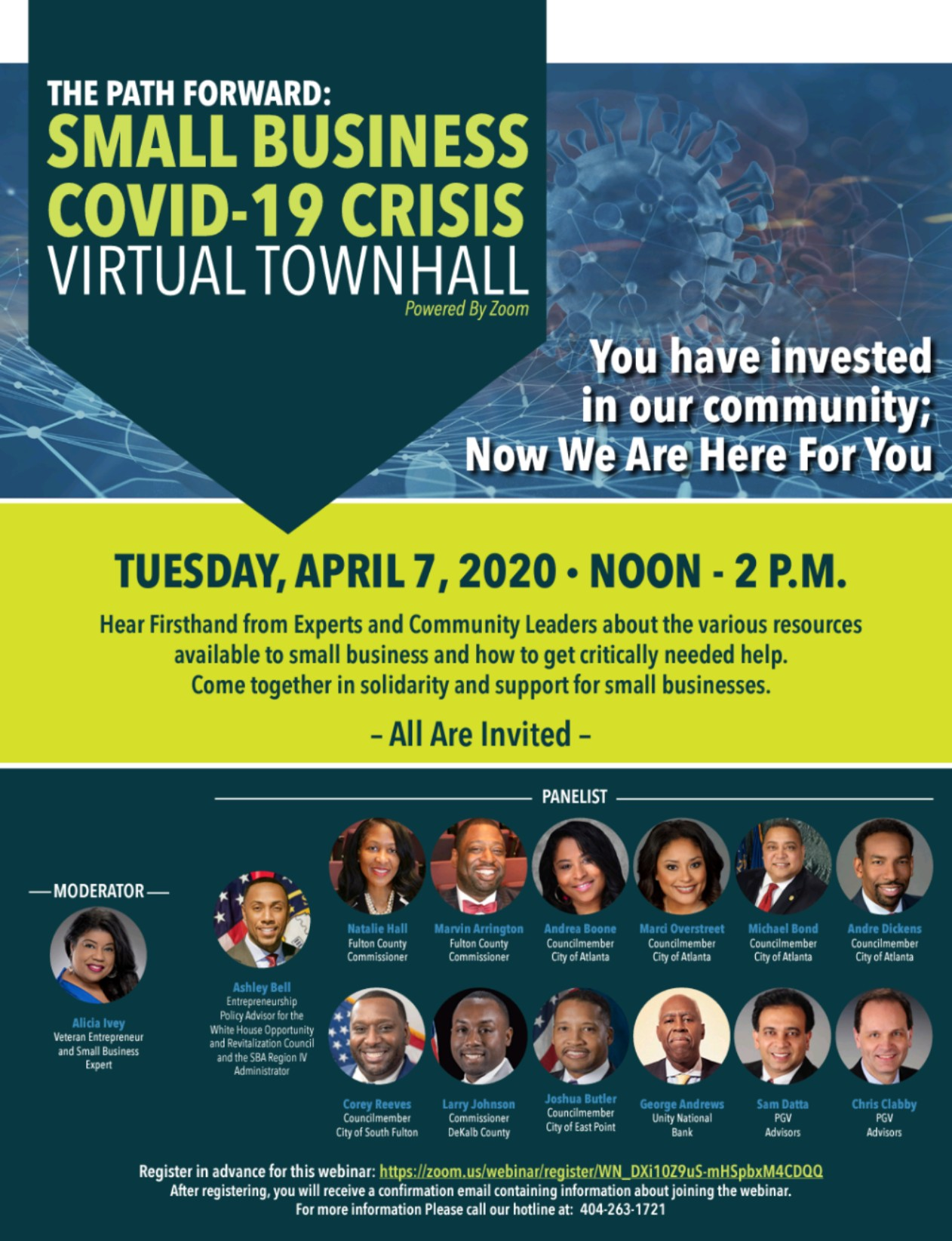 small business virtual townhall