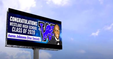 westlake high top 25 billboard campaign