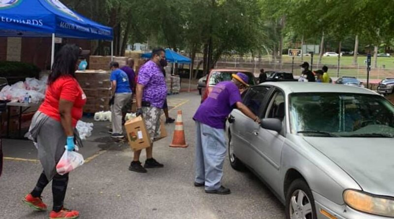 south fulton - food giveaway - welcome all park