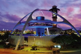 Encounter Restaurant, the iconic symbol of Los Angeles International Airport for decades