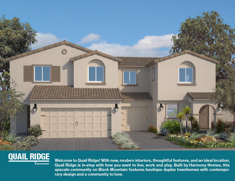 Quail Ridge Brochure Harmony Homes