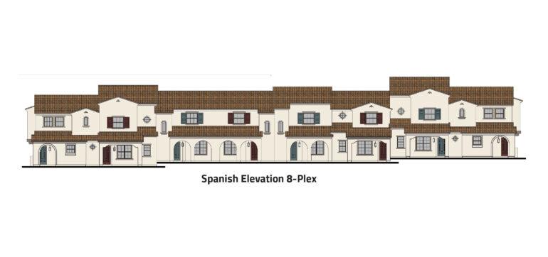 Spanish-elevation-8-plex