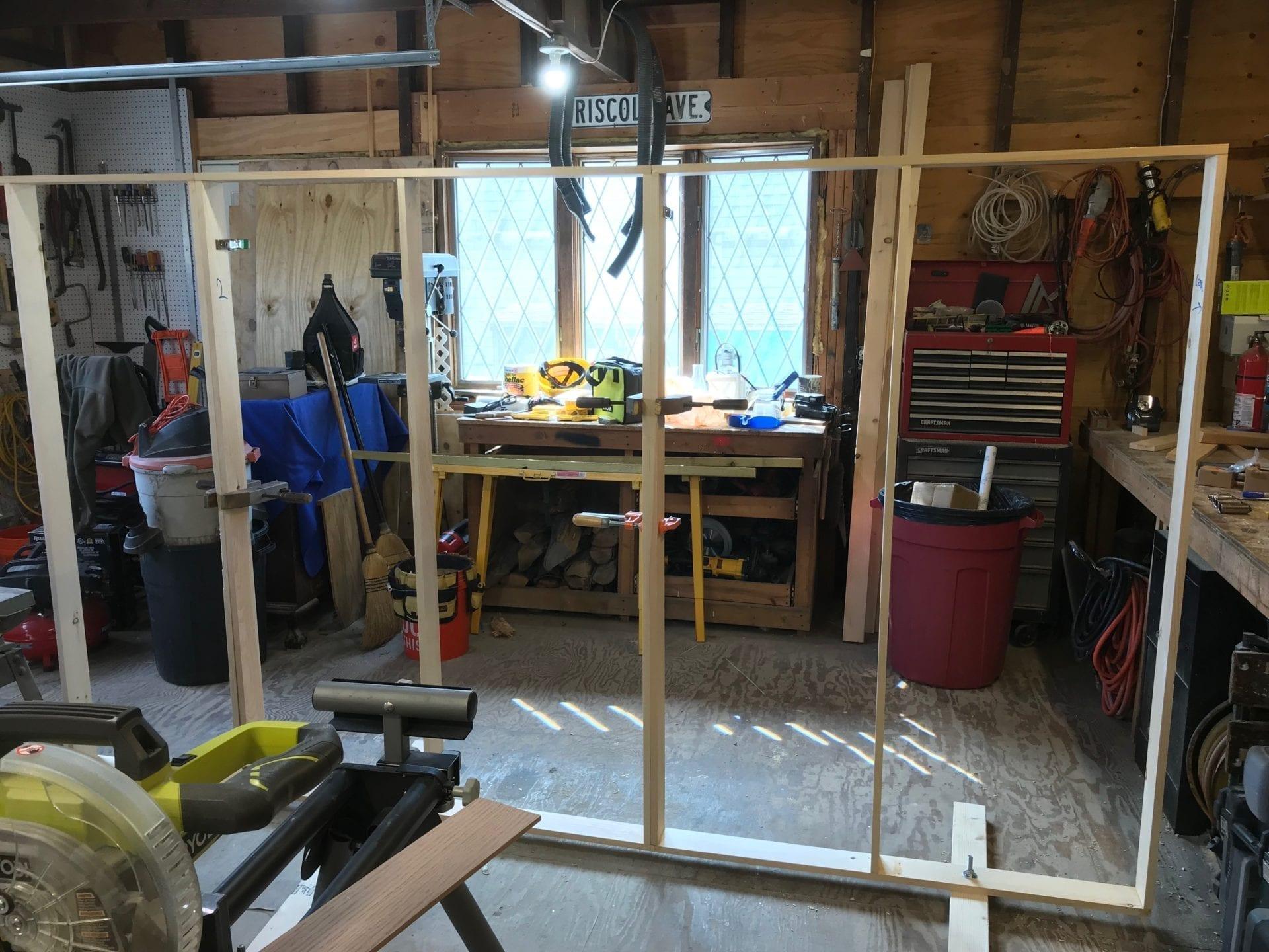 inside of barn before updating