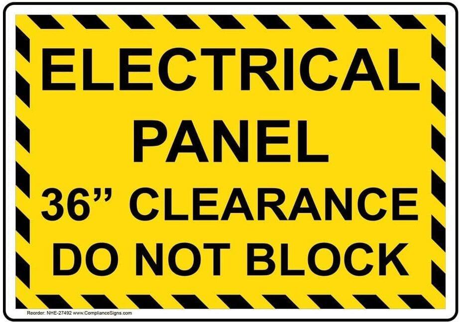 warning sign image