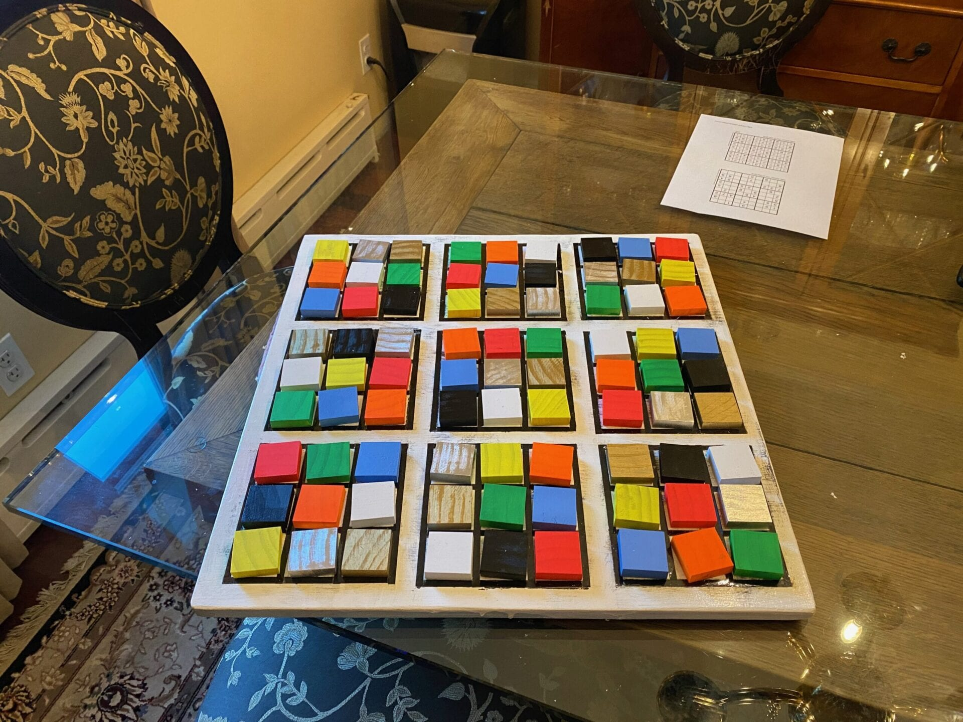 Sudoku Board Game for Visually Impaired