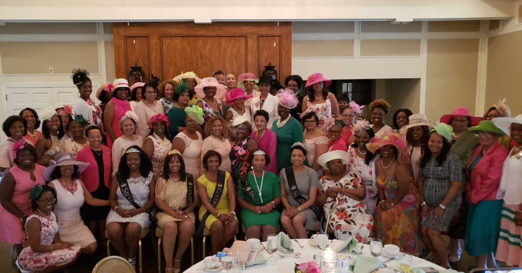 Celebrating our newest Golden and Silver Sorors at the LKO Jewel Tea - June 9, 2019