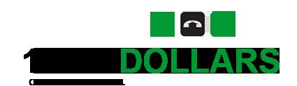 1-800-dollars Logo