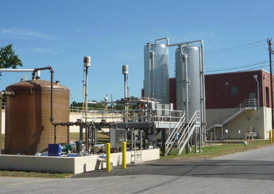 Biosolids Flow-Through Thermophilic Treatment Design and Implementation