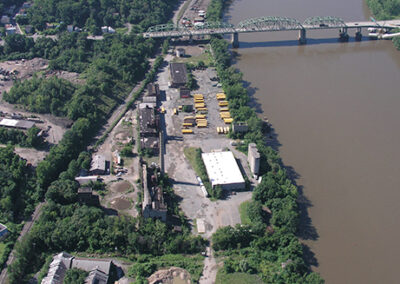 Remediation at a Steel and Gas Manufacturing and Storage Site