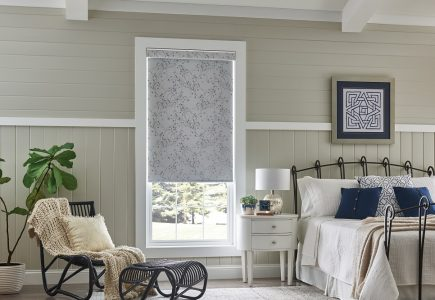 Cordless roller shade from Comfortex