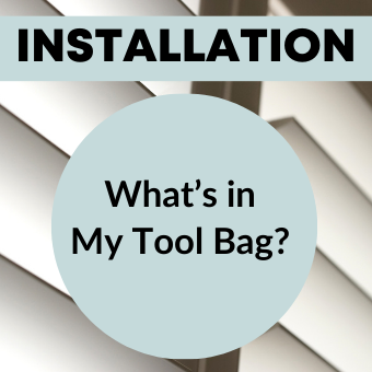 What's in My Tool Bag?