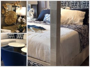 Furniture in blue and other ocean-inspired colors