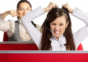 DEALING WITH THE CALL CENTER GRIND