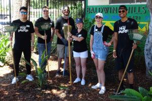 Big Sunday Hulupalooza 6 people garden BH