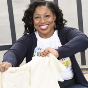 MLK 2020 Woman folding