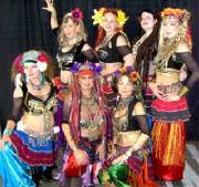 Belly Dancers at Tucson's Gay Pride Oct 9th -Troupe Shuvani