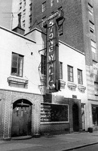 Stonewall Inn, the birthplace of the Stonewall Rebellion and the Drive for LGBTQ Equality