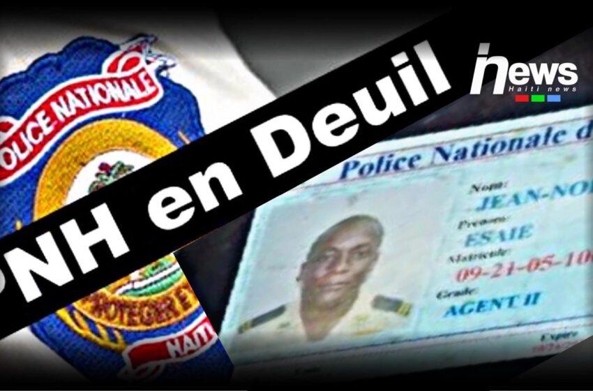 Un policier et une personne non identifiée tués par balles ce mercredi matin