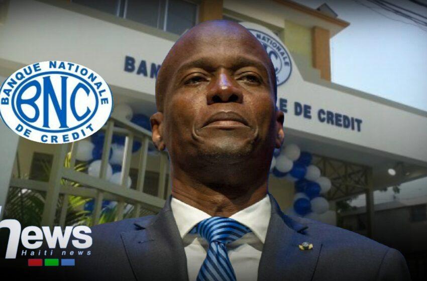 Jour J-2 : Jovenel Moïse nomme un nouveau conseil d'administration à la BNC