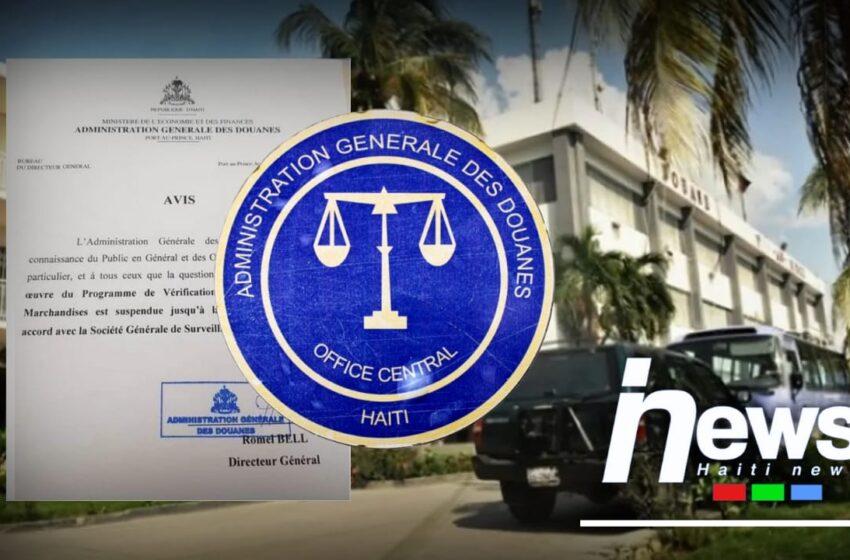 L'AGD suspend le programme de vérification des marchandises