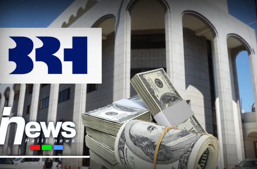 Nouvelle injection de 15 millions de dollars de la BRH sur le marché des changes