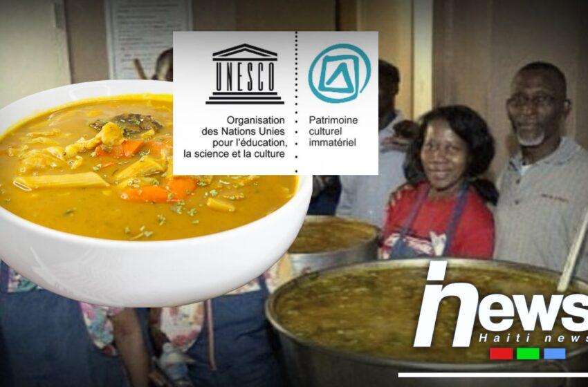 """La """"Soup Joumou"""" en passe de devenir patrimoine culturel immatériel de l'humanité."""