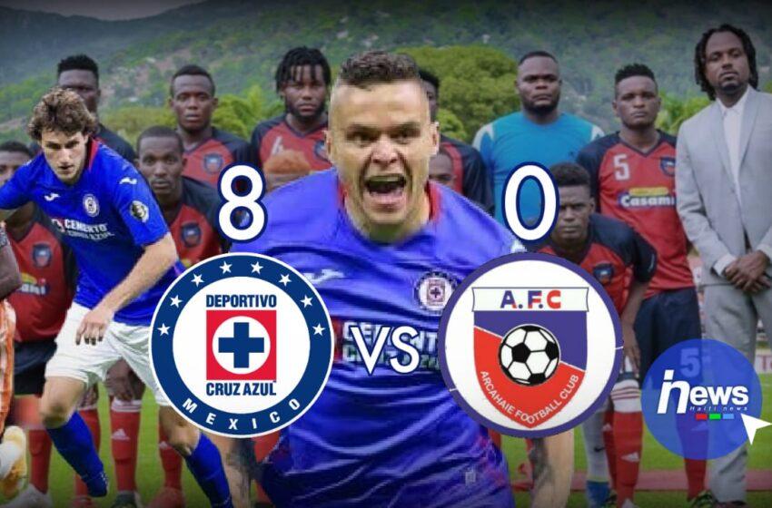 CONCACAF CL : écrasé 8-0, l'Arcahaie FC est éléminé de la compétition