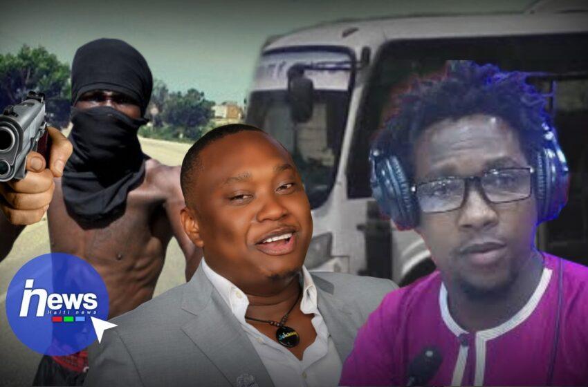 Deux journalistes échappent à la mort suite à l'attaque d'un minibus à Titanyen