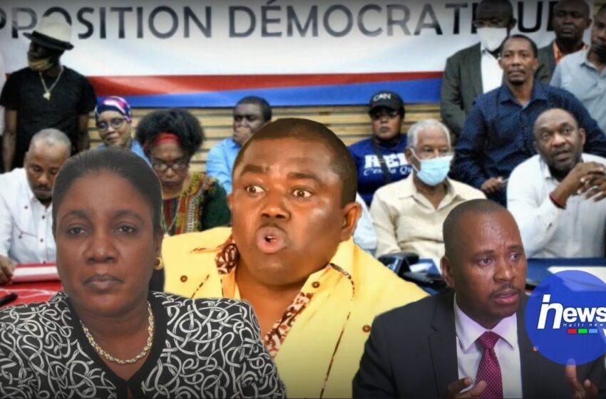 Le Secteur démocratique annonce ne plus vouloir travailler avec la DIRPOD
