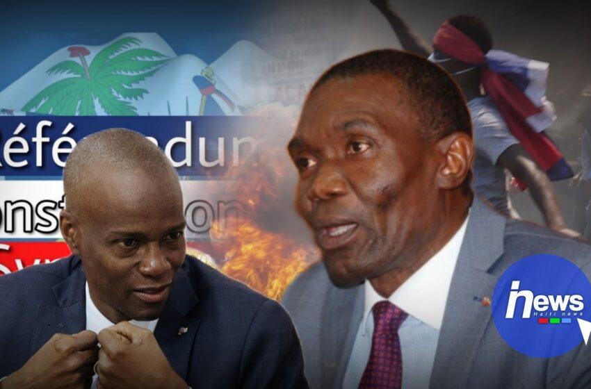 Jovenel Moïse fait face à un nouveau «cas», Lambert appelle au boycottage du référendum