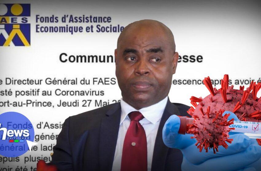 Le Directeur général du FAES positif au coronavirus