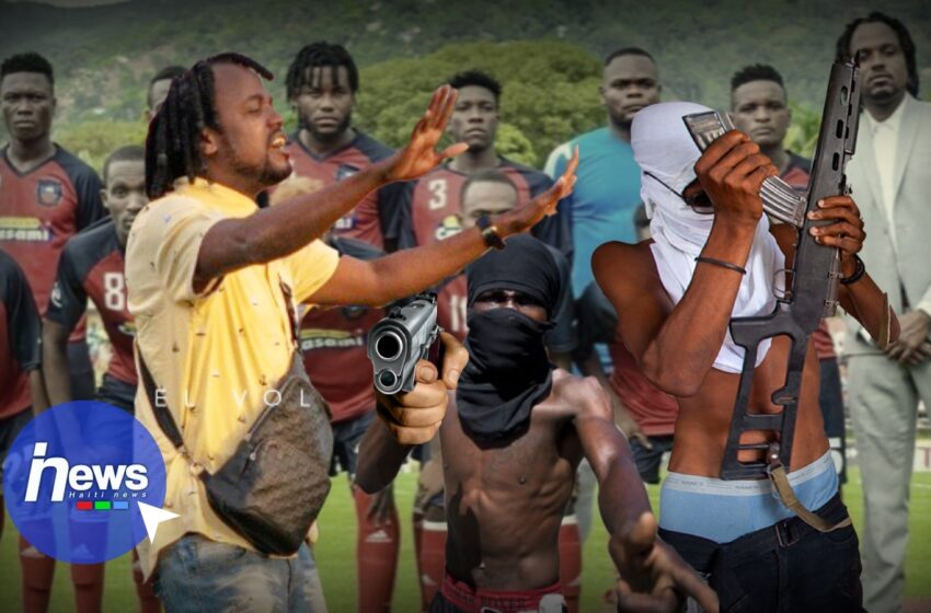Des hommes armés pousse le rappeur «Izolan» à démissionner comme président de l'AFC