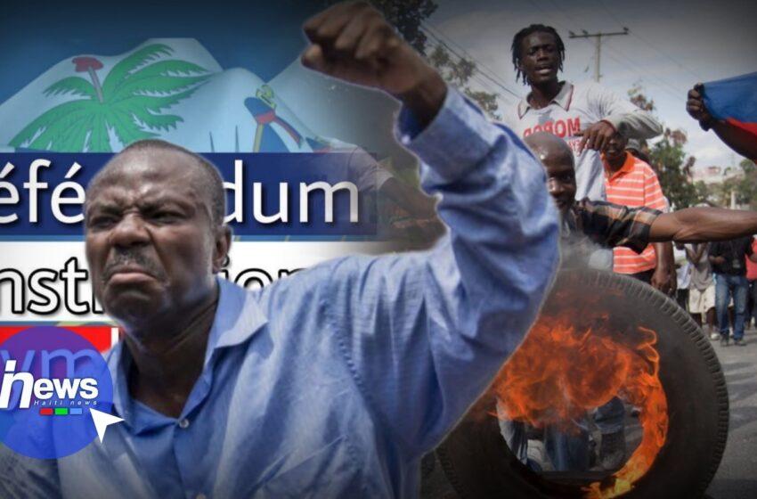 Contre l'organisation du référendum, Jean-Charles Moïse prône la violence pour freiner le projet