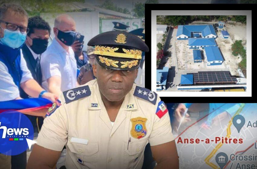 Ouverture officielle d'un nouveau poste frontalier à Anse-à-Pitres