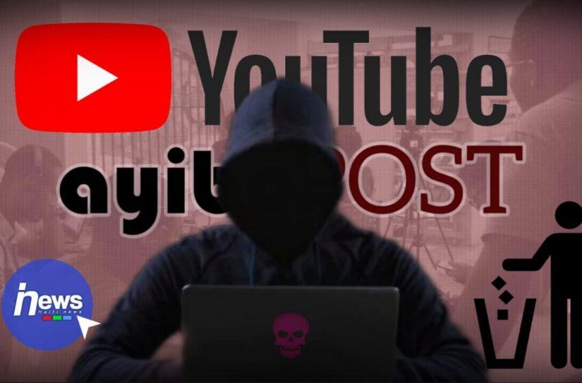 La chaîne YouTube de AyiboPost supprimée, l'équipe évoque une piratage