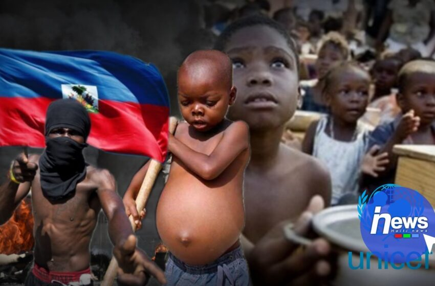 1,9 million d'enfants frappés par l'insécurité alimentaire en Haïti