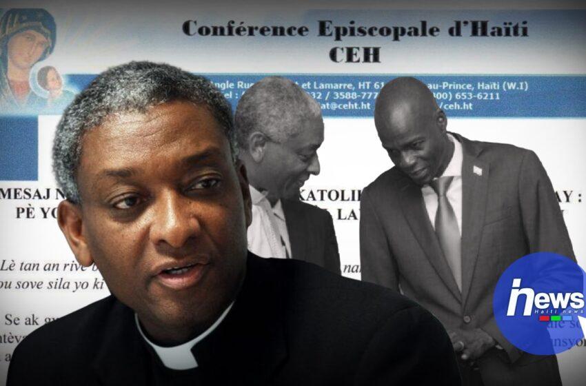 La Conférence Episcopale d'Haïti invite Jovenel Moïse à renoncer au projet du référendum