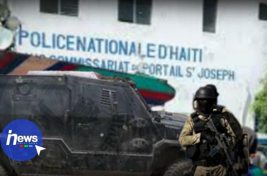 La PNH reprend le contrôle du sous-commissariat de Portail Saint-Joseph
