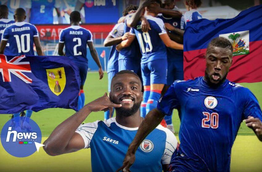 Éliminatoires de la Coupe du monde 2022: Haïti bat les îles Turks and Caicos 10 buts à 0