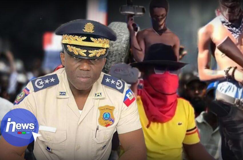 Léon Charles appelle les Haïtiens à se soulever contre les bandits