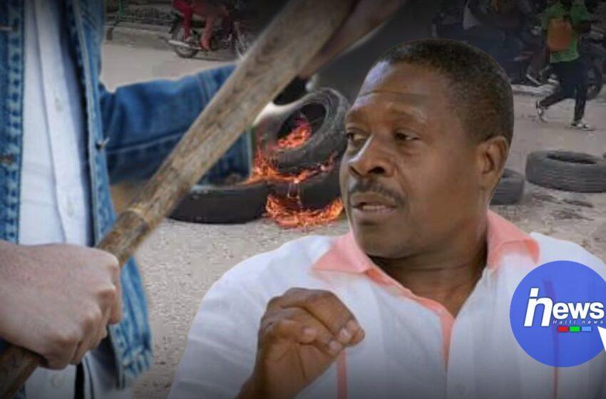 À Jacmel – Le ministre de la justice violemment Constestée par des anti-référendum