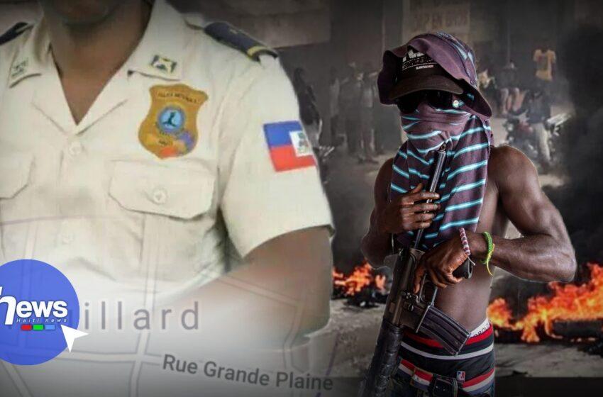 Un inspecteur de police tué lors d'une attaque armée à Drouillard, Cité Soleil