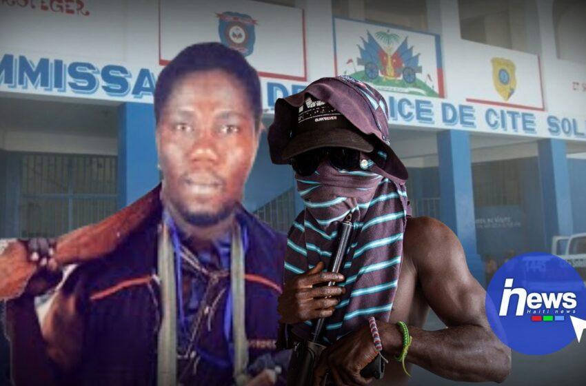 Le commissariat de Cité-Soleil pris en otage par le chef de gang Ti-Gabriel