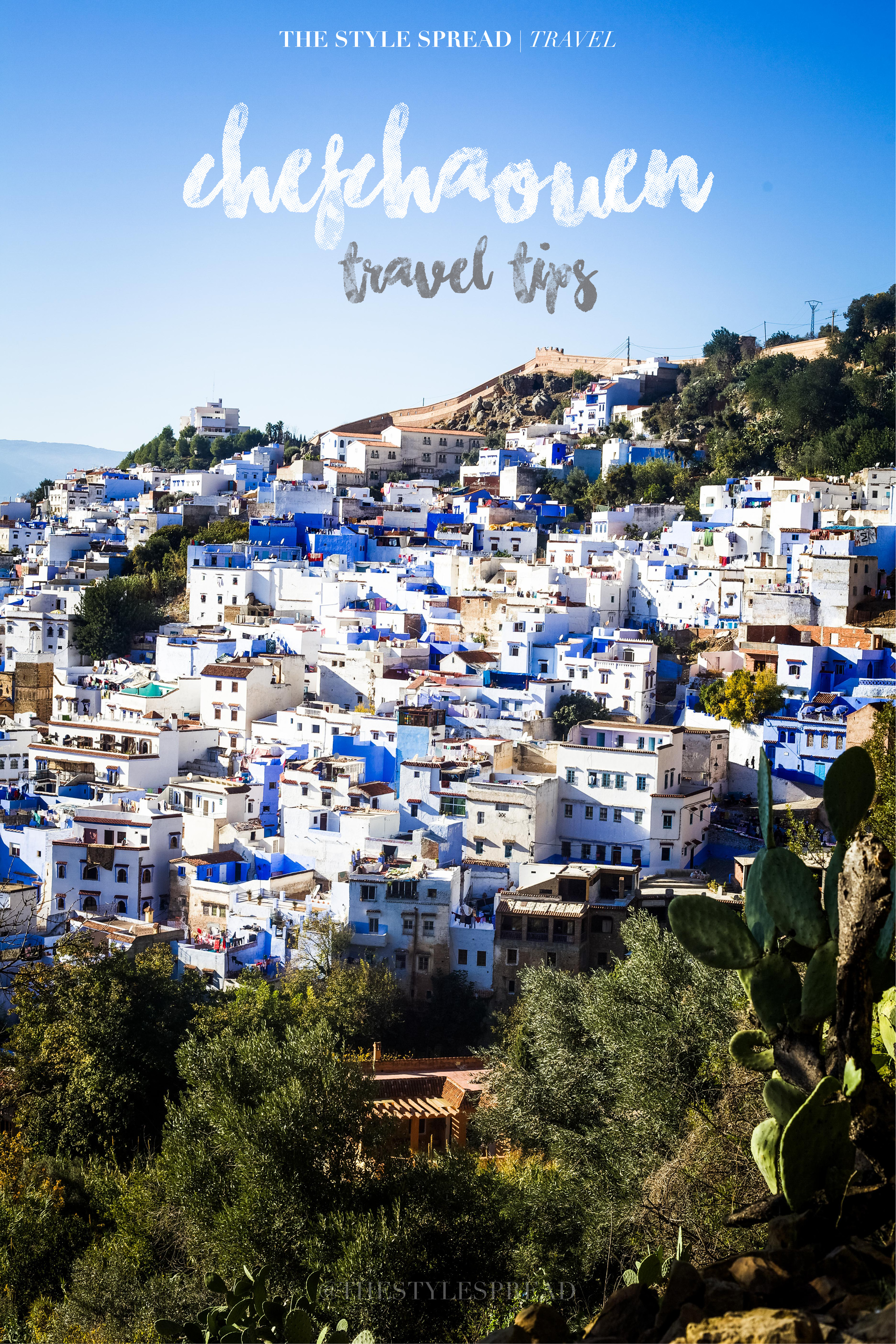3 Tips for visiting Chefchaouen