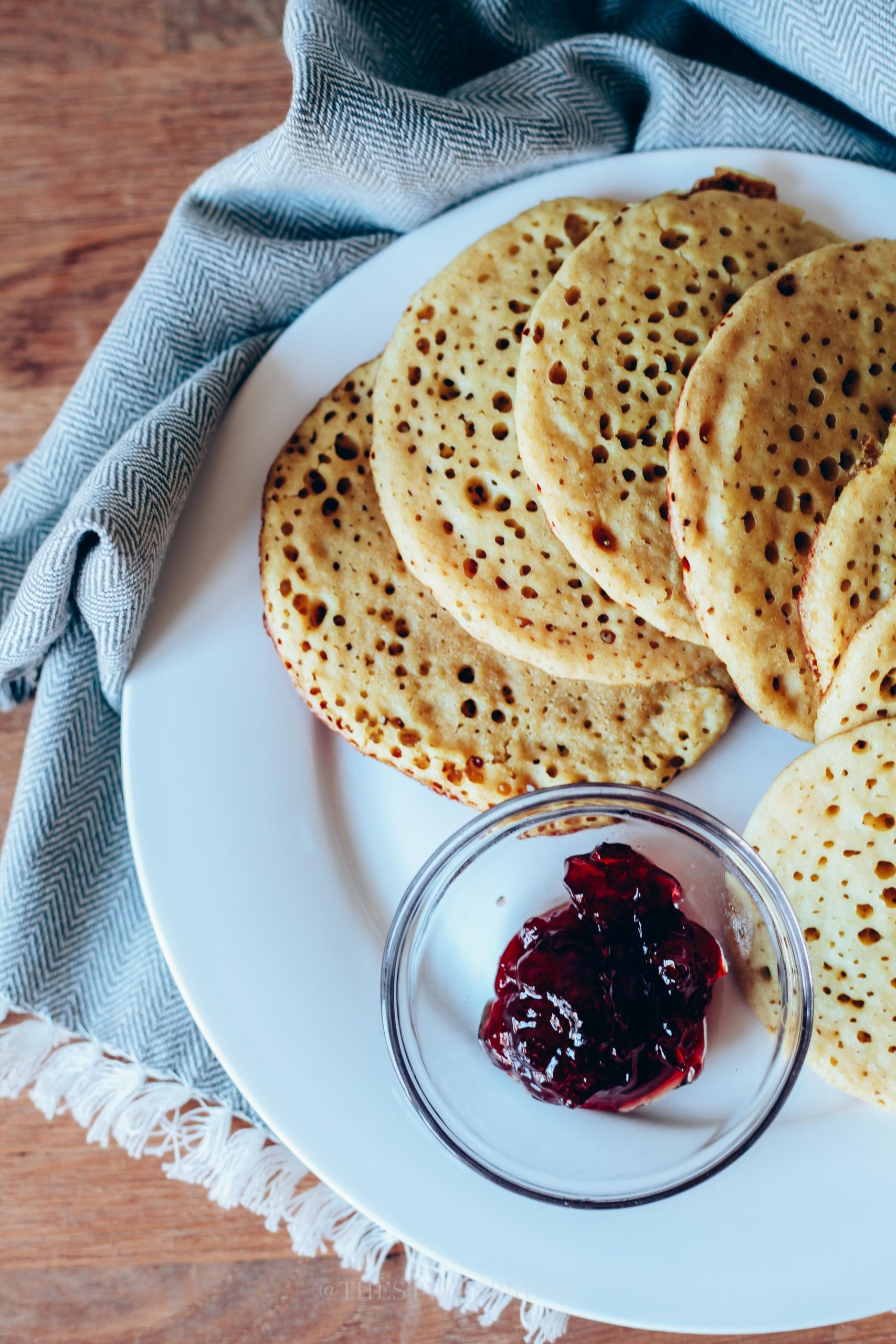 How to Make Moroccan Pancakes (Baghrir)